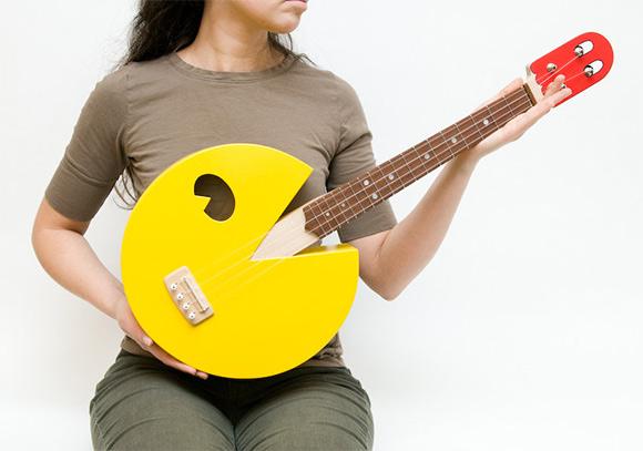 pac-man ukulele