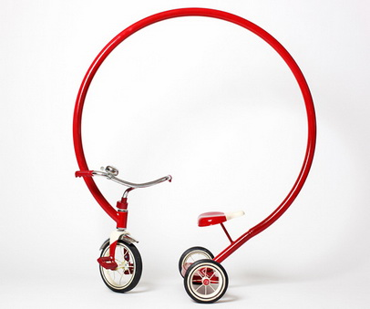 Sergio Garcias mad tricycle - silena trikolka