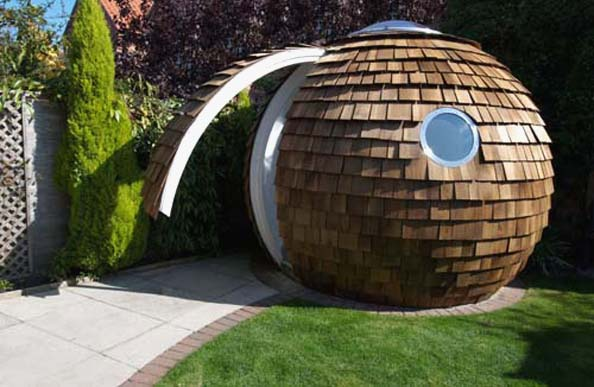 Archipod Energy efficient Eco Friendly Garden Office