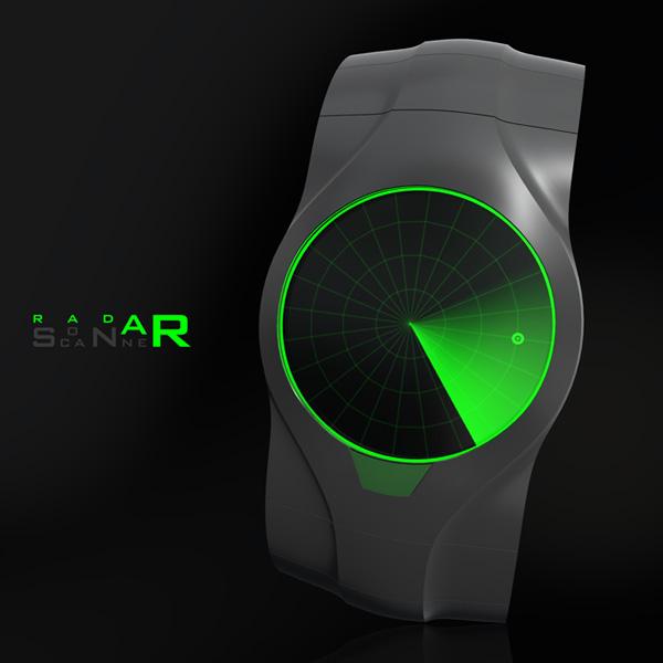 sonar hodinky